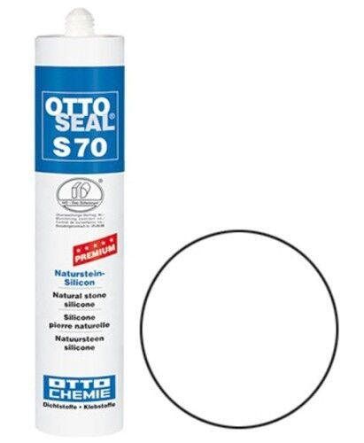 OTTOSEAL® S70 Premium-Naturstein-Silikon/Silicon 310 ml - Weiß C01