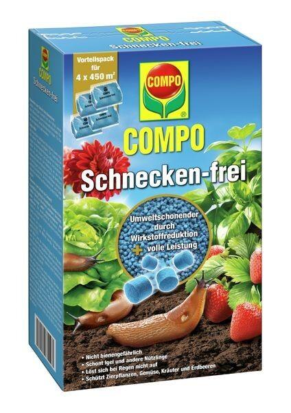 COMPO SAAT® Schnecken-frei 4 x 225g