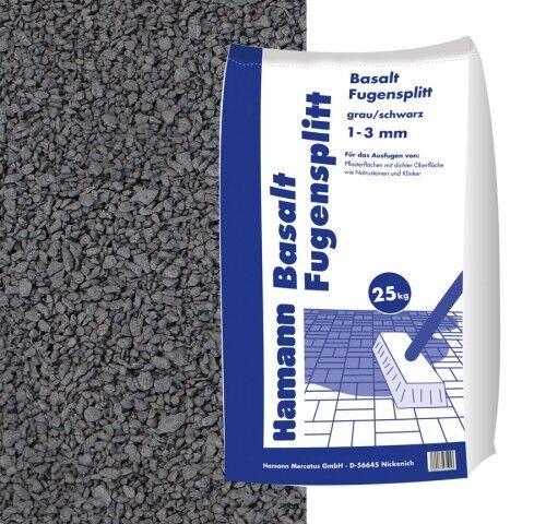 Basalt Fugensplitt 1-3 mm 25 kg Sack