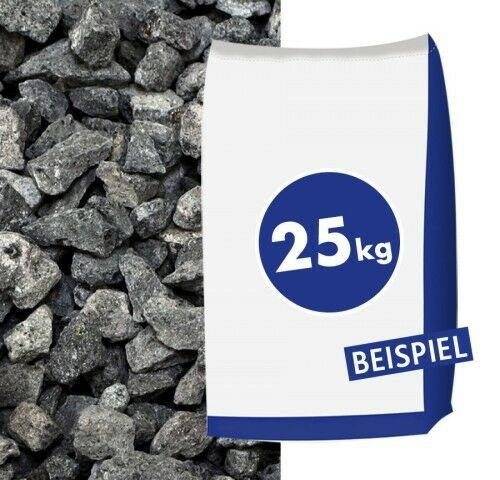 Basaltsplitt Eifelschwarz 11-22mm 25kg Sack