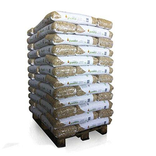 Holzpellets 70 x 15kg 6mm volle Palette