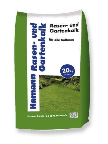 Hamann Rasen- und Gartenkalk 20 kg