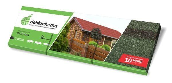 Bitumen-Rechteckschindel - grün 76 m²