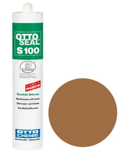 OTTOSEAL® S100 Premium-Sanitär-Silikon/Silicon 300 ml - Mittelbraun C15