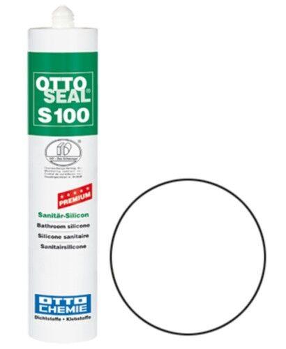 OTTOSEAL® S100 Premium-Sanitär-Silikon/Silicon 300 ml - Weiß C01
