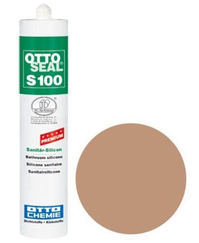 OTTOSEAL® S100 Premium-Sanitär-Silikon/Silicon 300 ml - Rotbeige C82