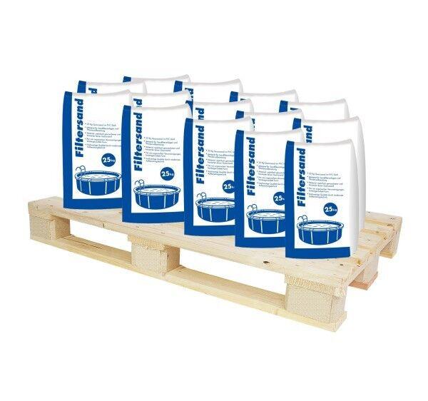 Hamann Filtersand 0,7-1,25 mm 1000 kg