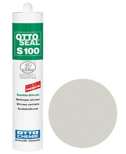 OTTOSEAL® S100 Premium-Sanitär-Silikon/Silicon 300 ml - Silbergrau C94