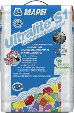 MAPEI Ultralite S1 Leichtflexklebemörtel 15 kg - Grau