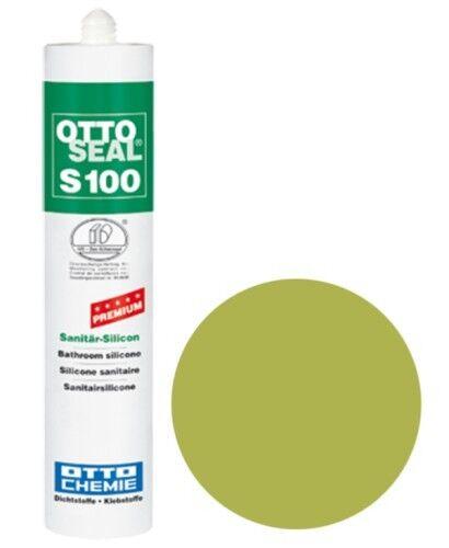 OTTOSEAL® S100 Premium-Sanitär-Silikon/Silicon 300 ml - Moosgrün C11