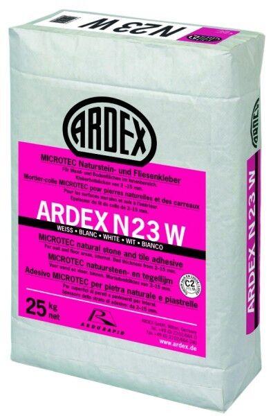 ARDEX N23W MICROTEC Naturstein- und Fliesenkleber 25 kg