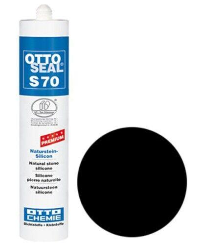 OTTOSEAL® S70 Premium-Naturstein-Silikon/Silicon 310 ml - Schwarz C04