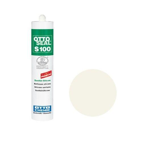 OTTOSEAL® S100 Premium-Sanitär-Silikon/Silicon 300 ml - Altweiß C51