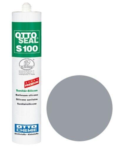 OTTOSEAL® S100 Premium-Sanitär-Silikon/Silicon 300 ml - Titangrau C1172