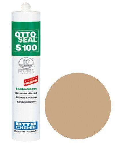 OTTOSEAL® S100 Premium-Sanitär-Silikon/Silicon 300 ml - Bahamabeige C10