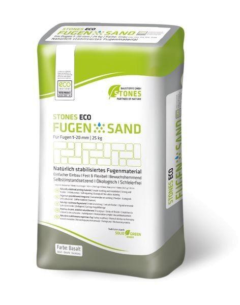 STONES ECO FUGENSAND 1-20 mm basalt 25 kg