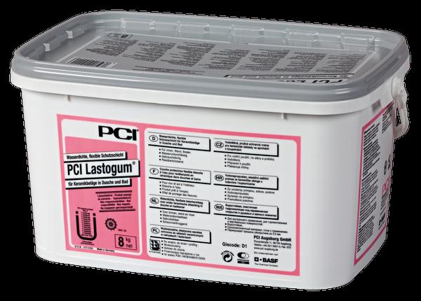 PCI Lastogum® Wasserdichte, flexible Schutzschicht 8 kg - Grau