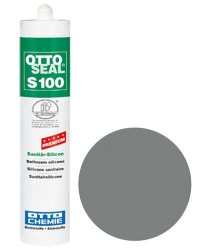 OTTOSEAL® S100 Premium-Sanitär-Silikon/Silicon 300 ml - Altgrau C1170