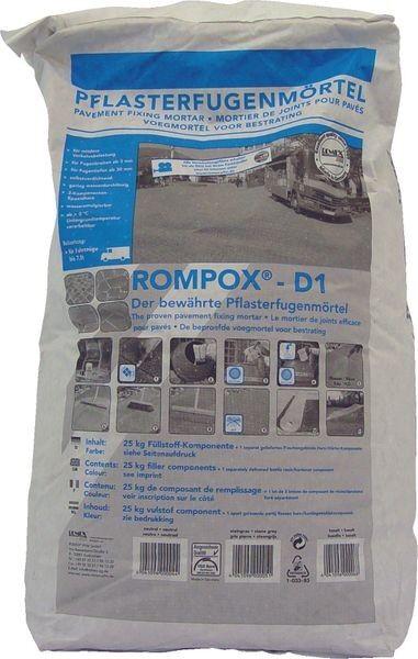 ROMPOX® - D1 2K-Epoxidharz Pflasterfugenmörtel 27,5 kg - basalt
