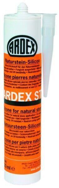 ARDEX ST Naturstein-Silicon 310 ml - silbergrau