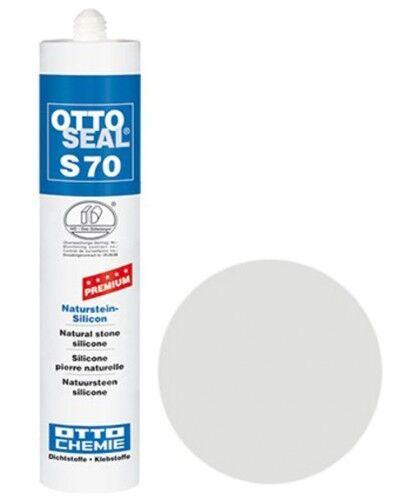 OTTOSEAL® S70 Premium-Naturstein-Silikon/Silicon 310 ml - Perlgrau C80