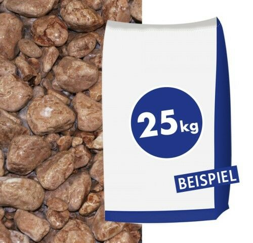 Marmorkies Rosso Verona 25-40mm 25kg Sack