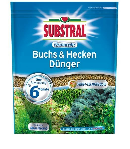 SUBSTRAL® Osmocote® Buchs & Hecken Dünger 1,5 kg