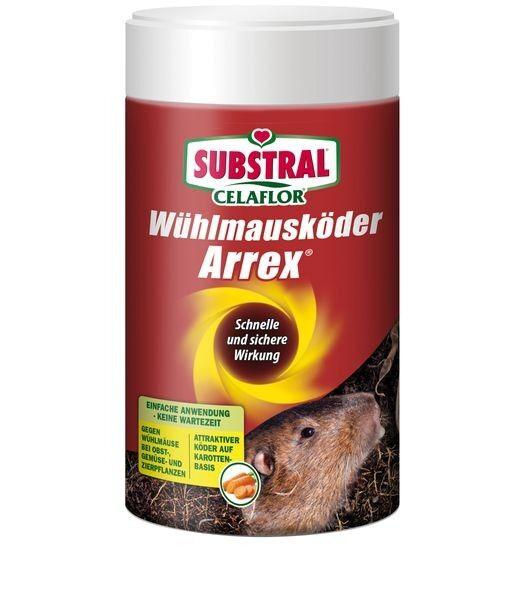 SUBSTRAL Wühlmausköder Arrex 250 g