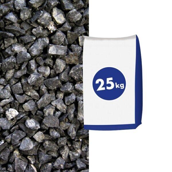 Basaltsplitt Eifelschwarz 5-8 mm 25 kg Sack