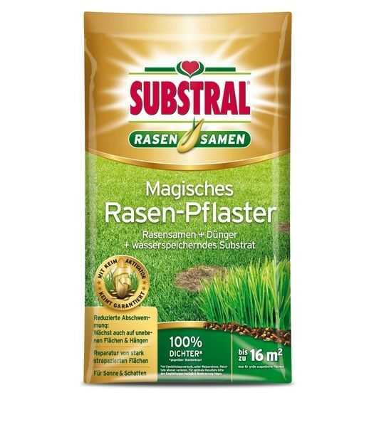 SUBSTRAL® Magisches Rasen-Pflaster 3,6 kg
