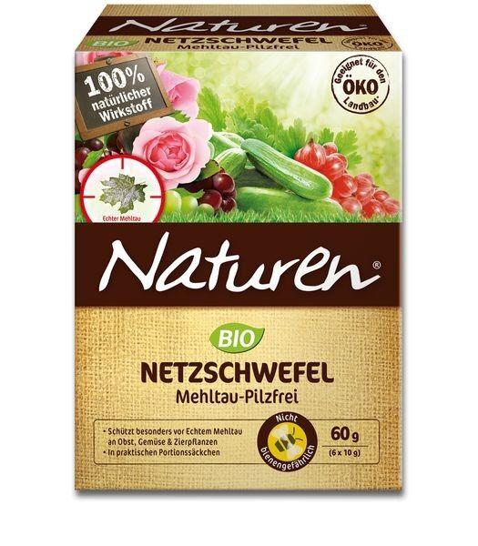 NATUREN® Bio Netzschwefel Mehltau-Pilzfrei 60 g