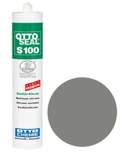 OTTOSEAL® S100 Premium-Sanitär-Silikon/Silicon 300 ml - Platingrau C52