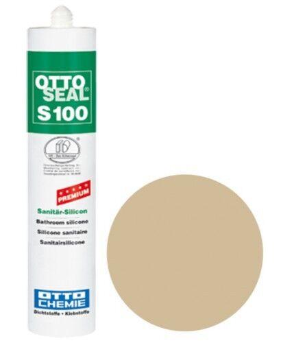 OTTOSEAL® S100 Premium-Sanitär-Silikon/Silicon 300 ml - Sahara C103