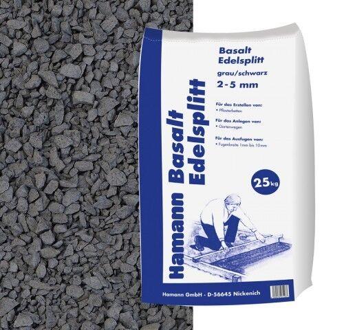 Basalt Edelsplitt 2-5 mm 25 kg Sack