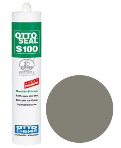 OTTOSEAL® S100 Premium-Sanitär-Silikon/Silicon 300 ml - Betongrau C56