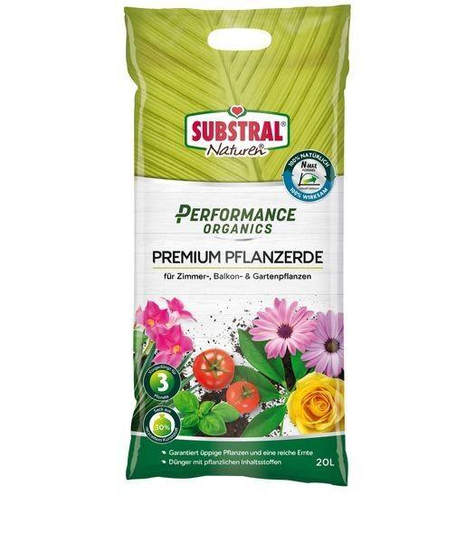 SUBSTRAL® Naturen® Performance Organics Pflanzerde Premium 20 l