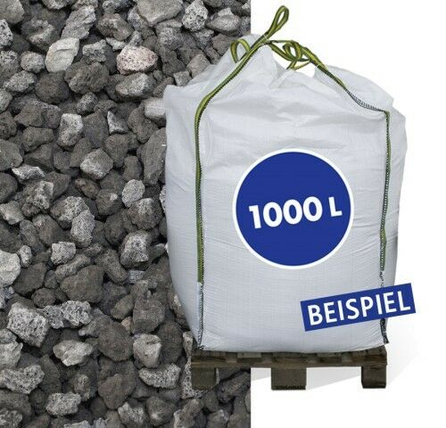 Hamann Lava-Mulch Anthrazit 8-16 mm Big Bag 1000 l