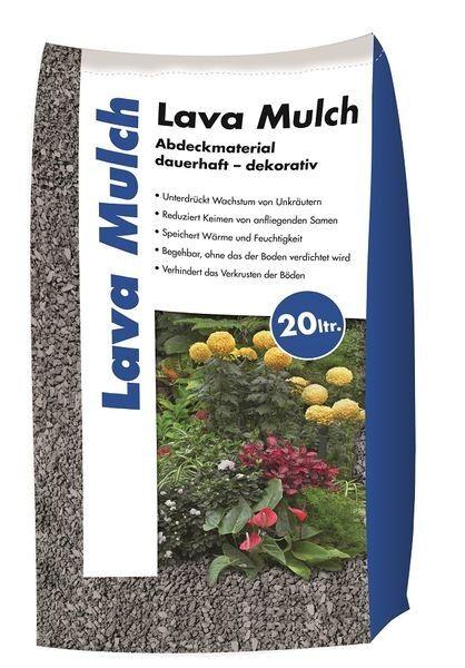 Hamann Lava-Mulch Anthrazit 2-8 mm 20 l