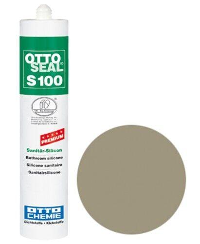 OTTOSEAL® S100 Premium-Sanitär-Silikon/Silicon 300 ml - Steingrau C79