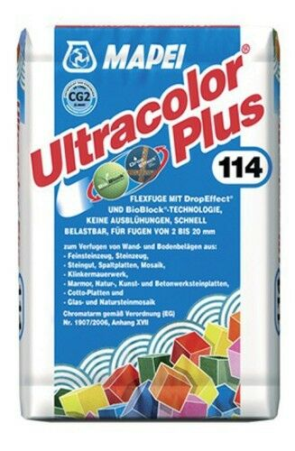 Mapei Ultracolor Plus Fugmörtel Zementgrau 5 kg