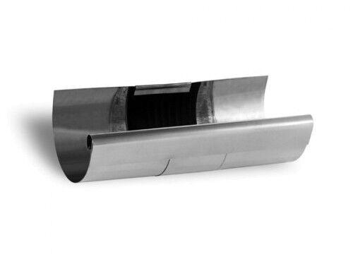 Zambelli VM Blank-Zinc® Rinnen-Dilatation halbrund 6 tlg. 333 mm