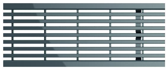 ACO Self® Längsstabrost Edelstahl 1000 mm