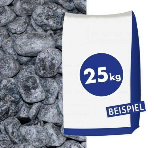 Marmorkies Nero Ebano 40-60mm 25kg Sack