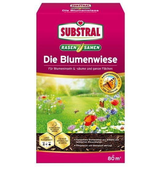SUBSTRAL® Die Blumenwiese Rasen-&Blumensamen 800 g