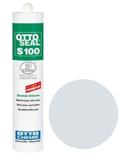 OTTOSEAL® S100 Premium-Sanitär-Silikon/Silicon 300 ml - Chinchilla C45