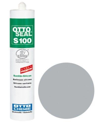 OTTOSEAL® S100 Premium-Sanitär-Silikon/Silicon 300 ml - Distelgrau C81
