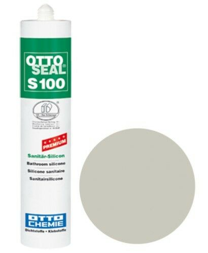 OTTOSEAL® S100 Premium-Sanitär-Silikon/Silicon 300 ml - Grauweiß C70