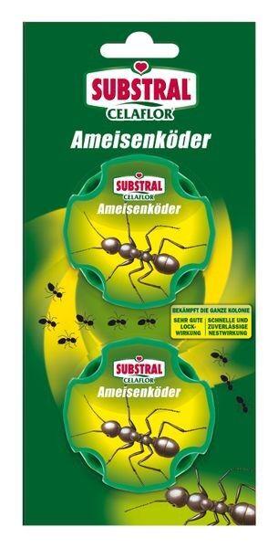 SUBSTRAL® CELAFLOR® Ameisen-Köder in Blisterverpackung 2 Dosen