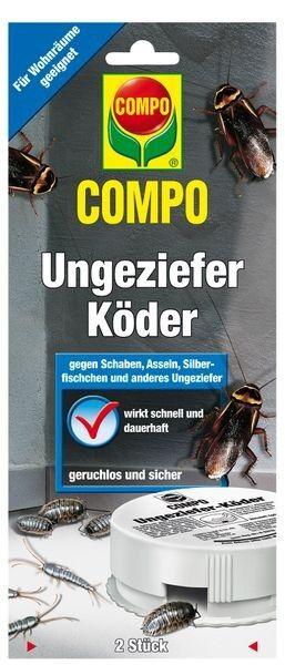 COMPO Ungeziefer-Köder 2 Dosen