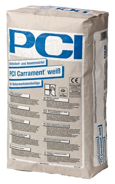 PCI Carrament® Mittelbett- und Ansetzmörtel 25 kg - Weiß